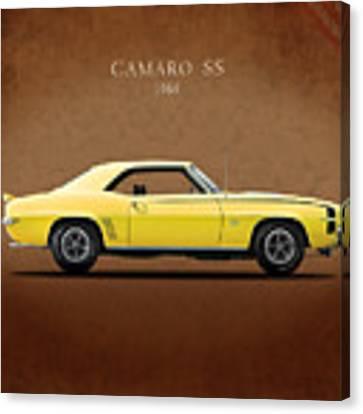 Camaro Ss 396 Canvas Print