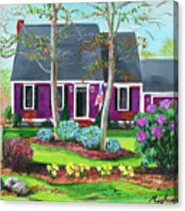 Cape House Canvas Print by Meghan OHare