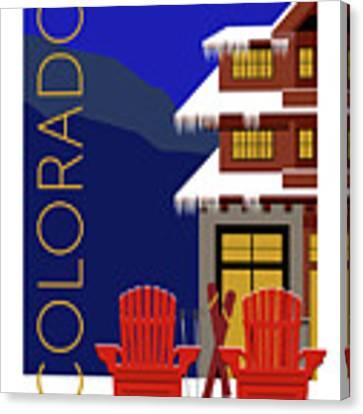 Colorado Chairs Canvas Print by Sam Brennan