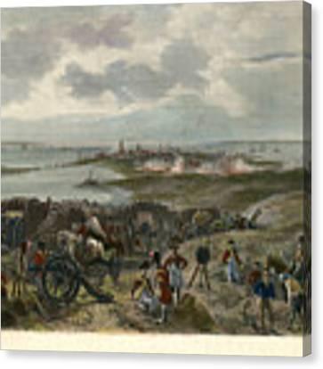 Charleston 1780 Canvas Print by Granger
