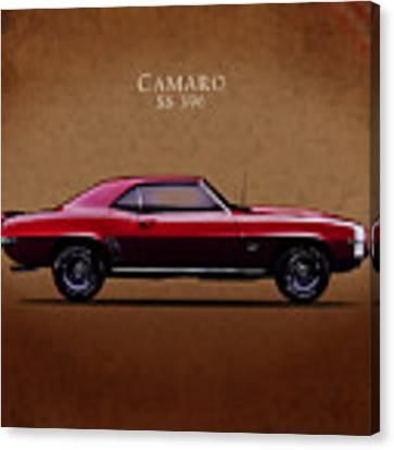Chevrolet Camaro Ss 396 Canvas Print