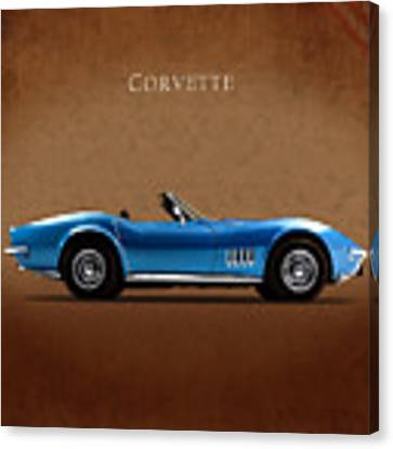 Chevrolet Corvette Stingray Canvas Print