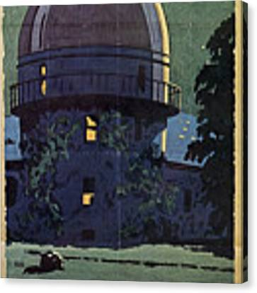 Chicago Poster, 1925 Canvas Print by Granger