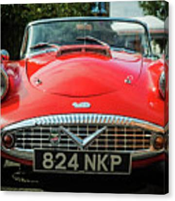 Classic Daimler Sports Car Canvas Print by Nick Bywater