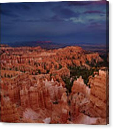 Clearing Storm Over The Hoodoos Bryce Canyon National Park Canvas Print by Dave Welling
