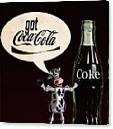 Coca-cola Forever Young 18 Canvas Print by James Sage