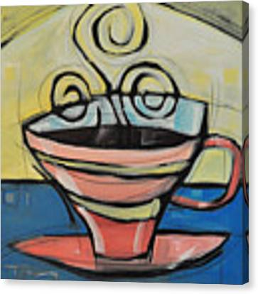 Coffee Cup Four Canvas Print