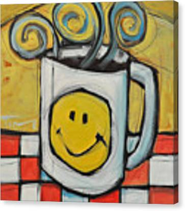 Coffee Cup One Canvas Print by Tim Nyberg