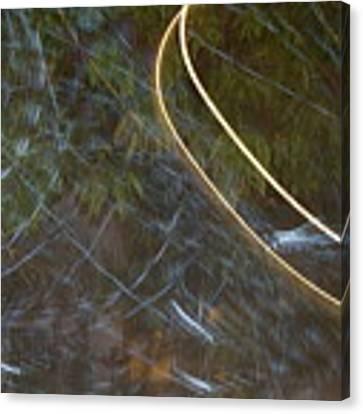 Colliding Worlds  Canvas Print by Michael Lucarelli