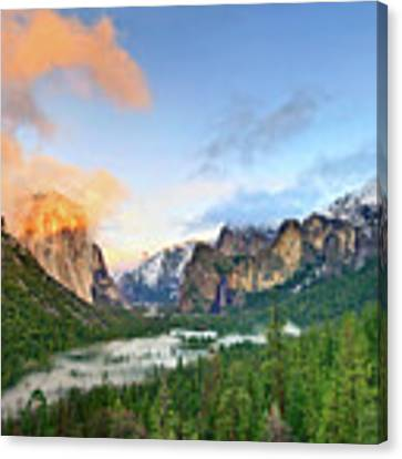 Colors Of Yosemite Canvas Print