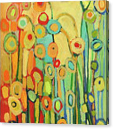 Dance Of The Flower Pods Canvas Print