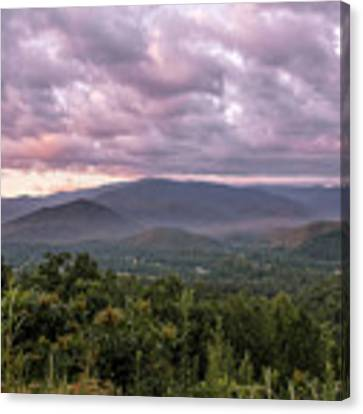 Dawn On The Foothills Parkway Canvas Print by Jemmy Archer