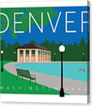 Denver Washington Park Canvas Print by Sam Brennan