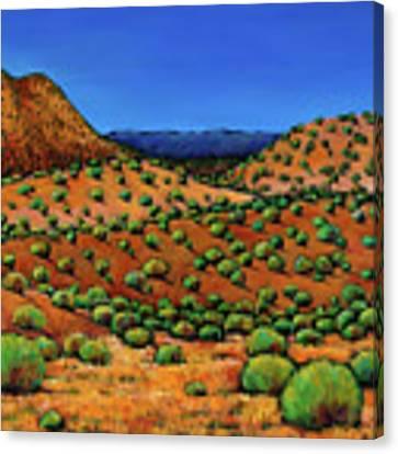 Desert Afternoon Canvas Print