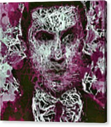 Dracula Canvas Print by Al Matra