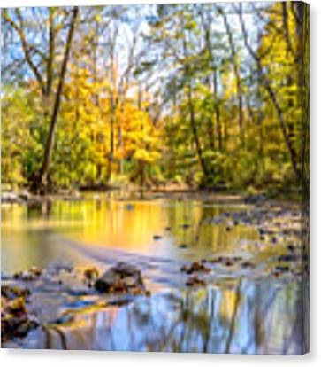 Fall In Wisconsin Canvas Print by Steven Santamour
