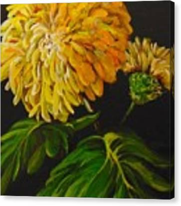 Fall Canvas Print by Saundra Johnson