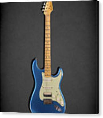 Fender Stratocaster 57 Canvas Print by Mark Rogan