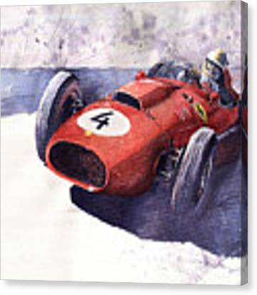 Ferrari 246 Mike Hawthorn Canvas Print