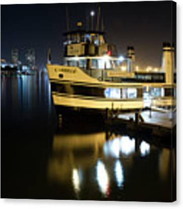 Ferry To Broadway Pier Canvas Print by Nathan Rupert