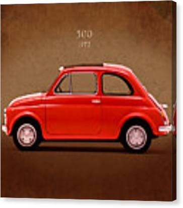 Fiat 500 R 1972 Canvas Print
