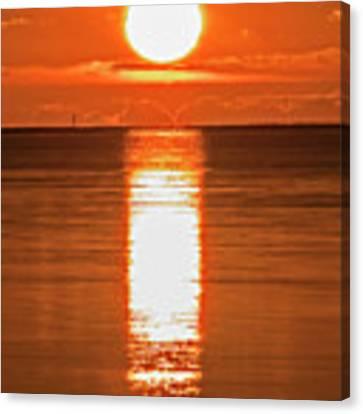 First Key West Sunrise 2018 F Canvas Print by Bob Slitzan