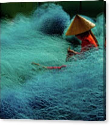 Fishnet Canvas Print by Okan YILMAZ