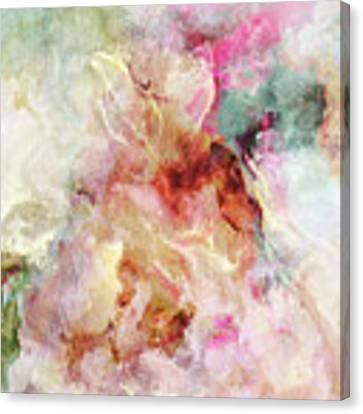 Floral Wings - Abstract Art Canvas Print by Jaison Cianelli