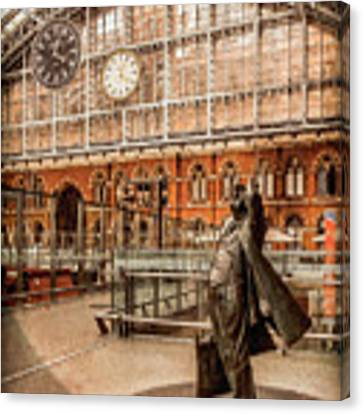 London, England - Flying Time Canvas Print by Mark Forte
