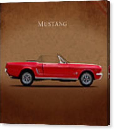 Ford Mustang 289 Canvas Print