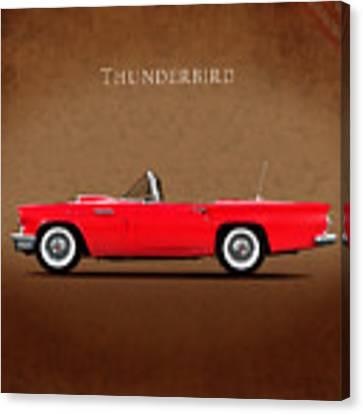 Ford Thunderbird 1957 Canvas Print