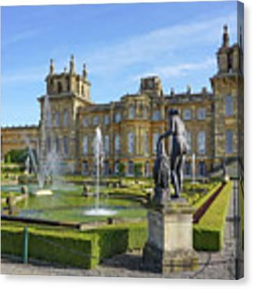 Formal Garden Blenheim Palace Canvas Print by Joe Winkler