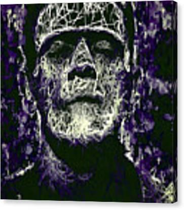 Frankenstein Canvas Print by Al Matra