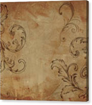 French Scrolls Canvas Print by Jocelyn Friis