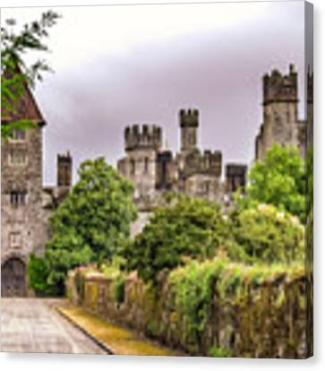 Gardens At Lismore Castle Canvas Print by Claudia Abbott