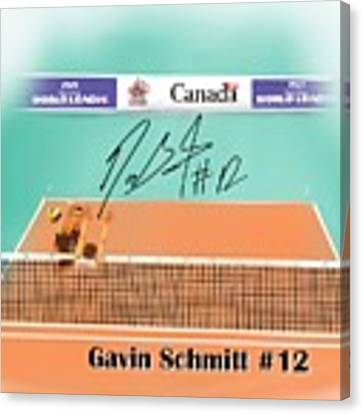 Gavin Schmitt Canvas Print by Darren Cannell