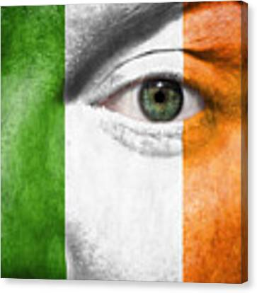 Go Ireland Canvas Print