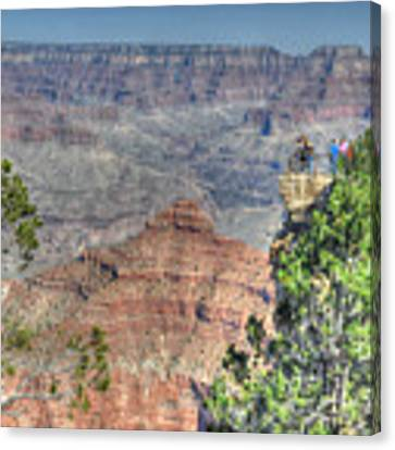 Grand Canyon Overlook Canvas Print by David Armstrong