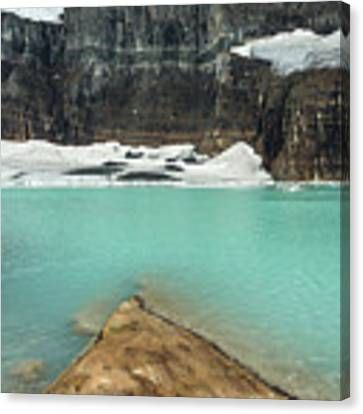Grinnell And Salamander Glaciers Canvas Print by Jemmy Archer