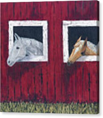 He And She Canvas Print by Kathryn Riley Parker