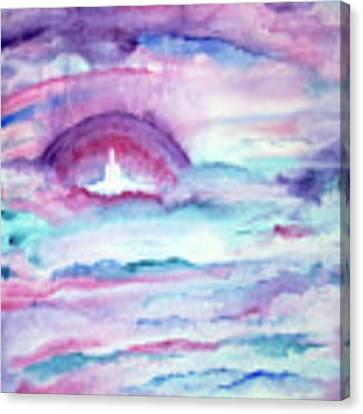 Heaven Awaits Canvas Print by Nancy Cupp