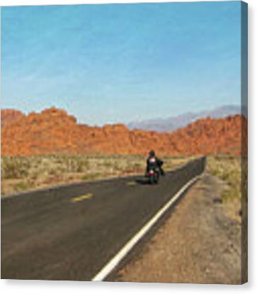 Highway Journey Canvas Print by JAMART Photography