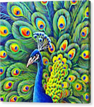 His Splendor Canvas Print by Nancy Cupp