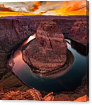 Horseshoe Bend, Colorado River, Page, Arizona  Canvas Print by Bryan Mullennix