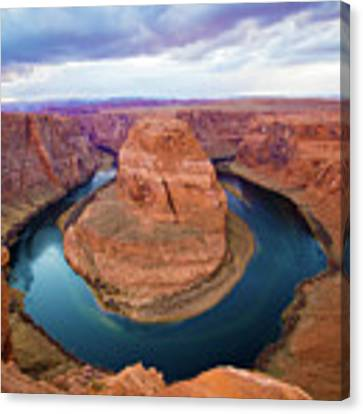 Horseshoe Bend Canvas Print by Kate Avery