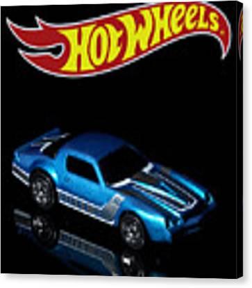 Hot Wheels 67 Pontiac Firebird 400-3 Canvas Print by James Sage