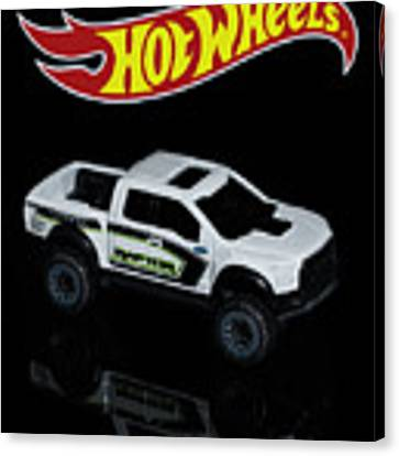 Hot Wheels Ford F-150 Raptor Canvas Print by James Sage