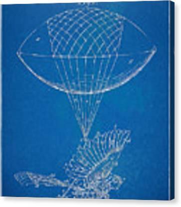 Icarus Airborn Patent Artwork Canvas Print