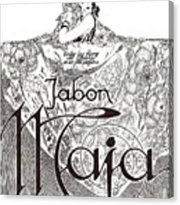 Jabon Canvas Print by ReInVintaged