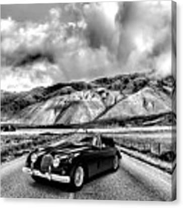 Jaguar Xk150 1960 Canvas Print